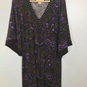 Michael Kors VNeck Tunick Dress